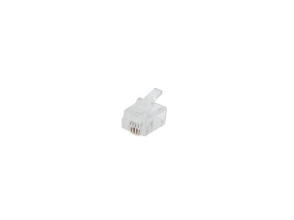 CONECTOR MODULAR RJ11 6P4C