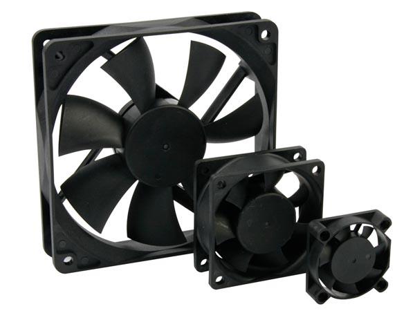 VENTILADOR 12VDC COJINETE LISO 60 x 60 x 25mm