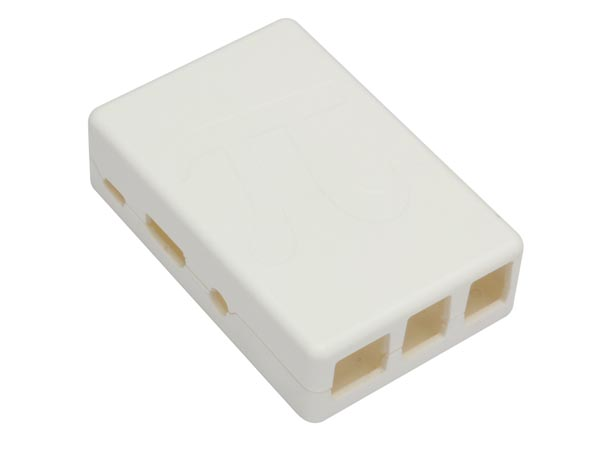 CARCASA PARA RASPBERRY PI B - COLOR BLANCO