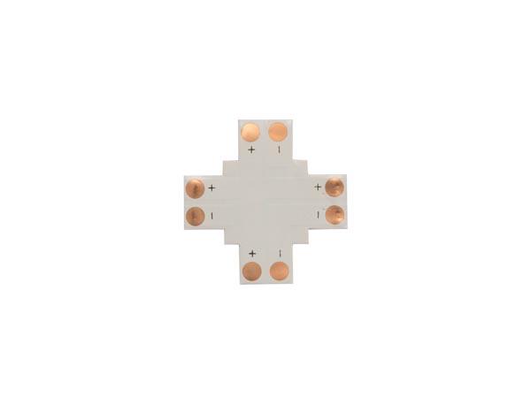CONECTOR DE CI FLEXIBLE - FORMA DE '+' - 8 mm 1 COLOR