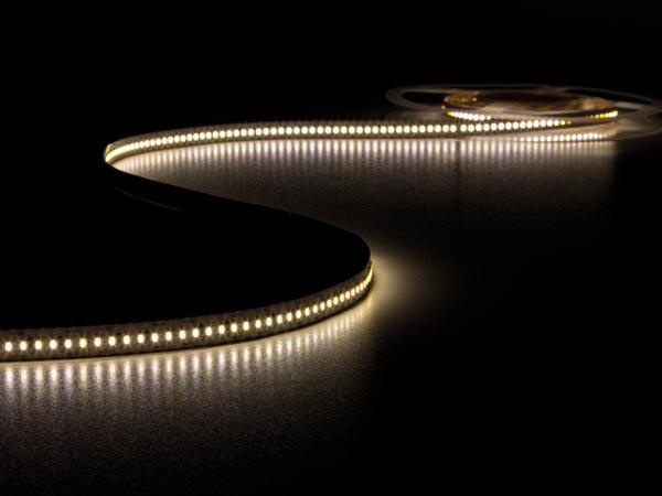 CINTA DE LEDs FLEXIBLE - COLOR BLANCO CÁLIDO 3500K - 1080 LEDs - 5m - 24V