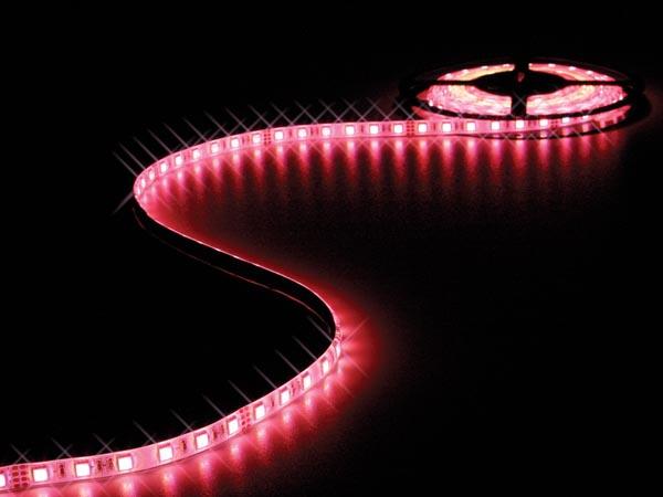 CINTA DE LEDs FLEXIBLE - RGB - 300 LEDs - 5m - 24V