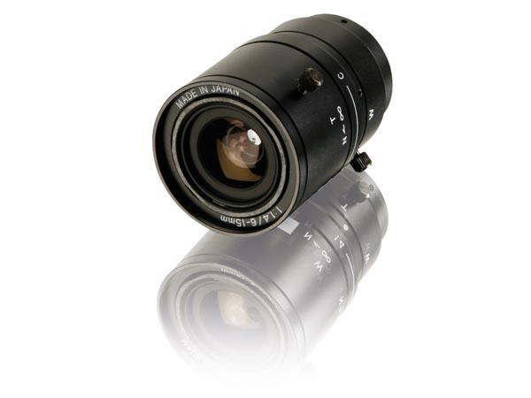 ÓPTICA ZOOM PARA CCTV 6-15mm / F1.4