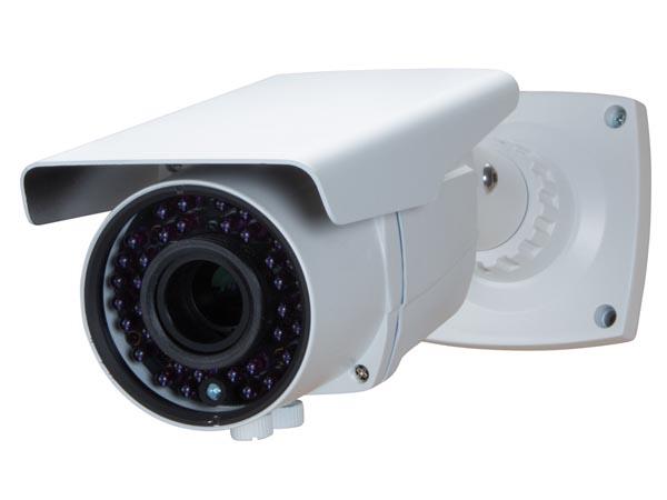 CÁMARA HD CCTV - HD-TVI - PARA EL USO EN EXTERIORES - CILÍNDRICA - IR - LENTE VARIFOCAL - 1080P