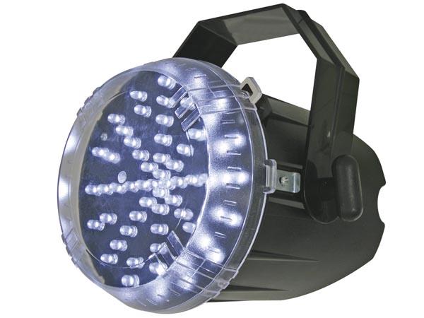 ESTROBOSCOPIO CON LEDs BLANCOS - 60 LEDs